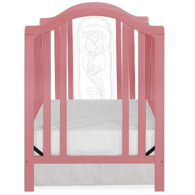 Sweetpea Baby Pacific Convertible Crib - Dusty Rose
