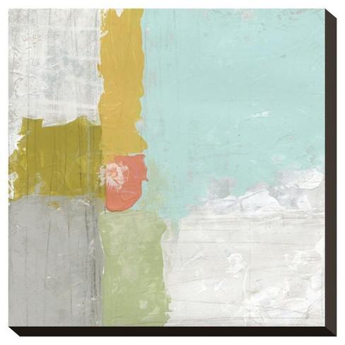 Coastal Quadrant I By June Vess Stretched Canvas Print - Art.Com - image 1 of 2
