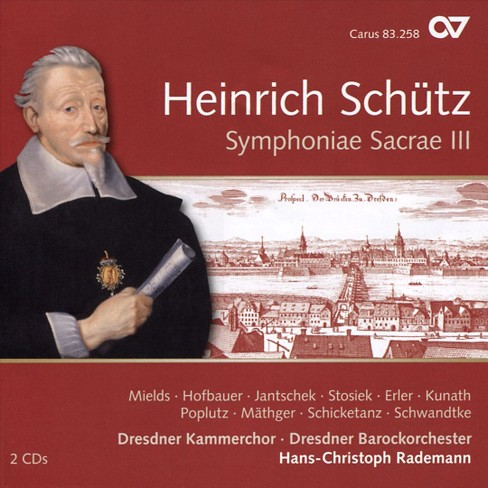 Various - Schutz:Symphoniae sacrae iii vol 12 (CD) - image 1 of 1