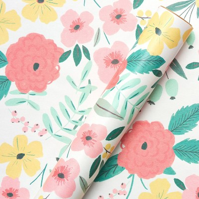 Floral Birthday Wrapping Paper - Spritz™