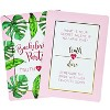 Truth or Dare Game, 40-Piece Bachelorette Party Card Games for Adults, Girls Night Out, Bridal Shower, Tropical Palm Leaves Design - image 2 of 4