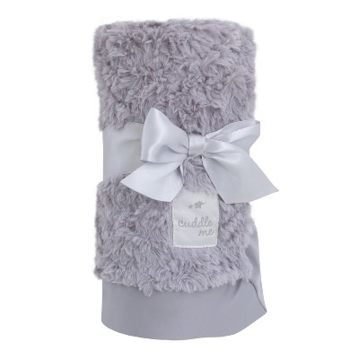 NoJo Cuddle Me Luxury Plush Blanket - Gray