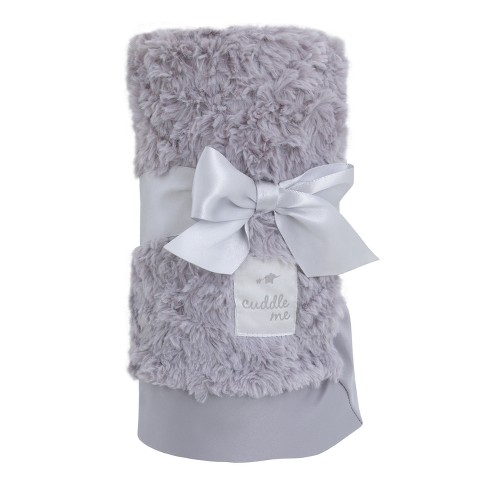 NoJo Cuddle Me Luxury Plush Blanket - Gray - image 1 of 2