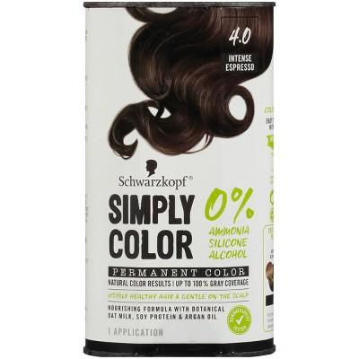Schwarzkopf Simply Color Permanent Hair Color - 5.7 fl oz