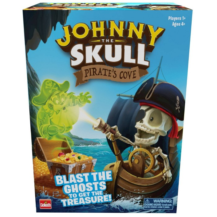 Goliath Johnny The Skull Pirate's Cove Game : Target