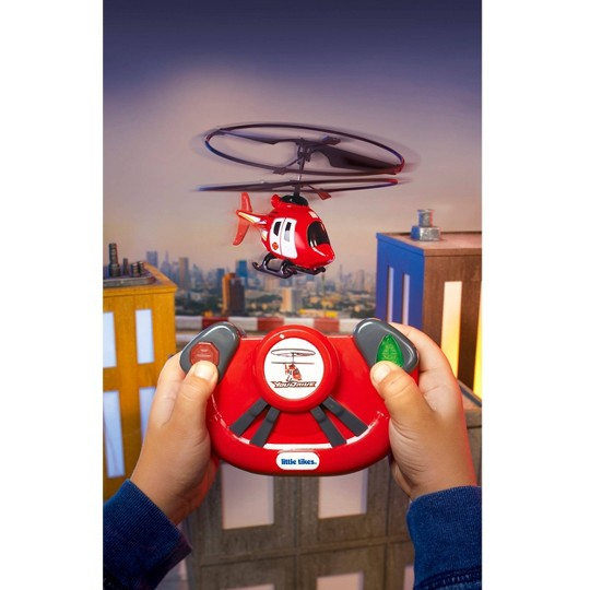 Little Tikes YouDrive Rescue Chopper Radio Control Helicopter with Lights image number null