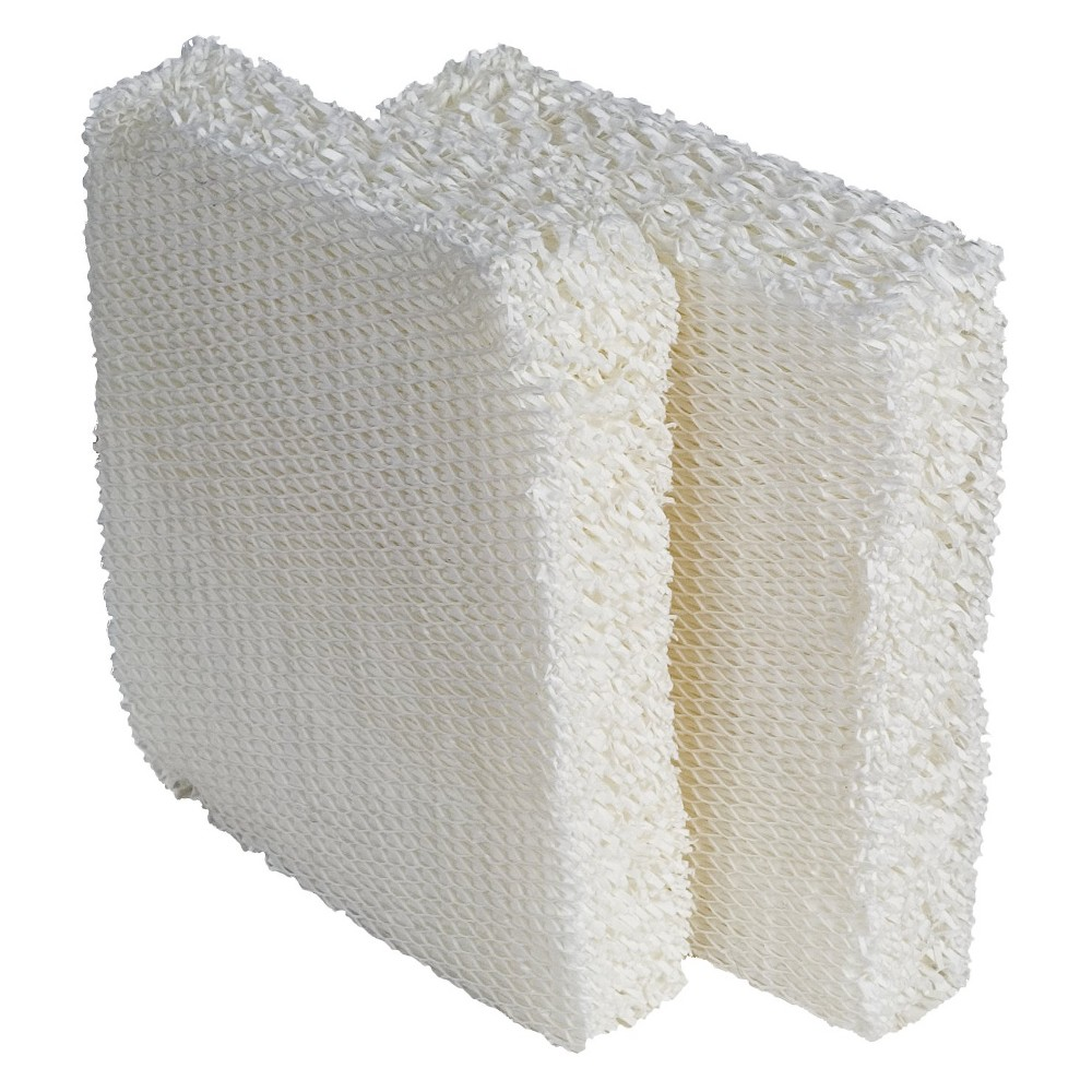 Vornado Replacement Humidifier Wick Filters (2-Pack) - MD1-0002 Vornado genuine humidifier wick are specially designed for our humidifiers. The filter must have the correct height, width, thickness, and material for maximum performance. Competitors often advertise their filters will work with Vornado humidifiers but these filters don't always fit properly, therefore, the humidifier will not work effectively. Vornado wicks are developed from the highest quality materials that work to absorb the maximum amount of water while filtering the circulating air. Competitor brands are made of different materials not designed for Vornado humidifiers. Comes with 2 genuine replacement filters per box. It fits all models of Vornado Evaporative Humidifiers, including model numbers 30, 40, Evap1, and Evap2 series.