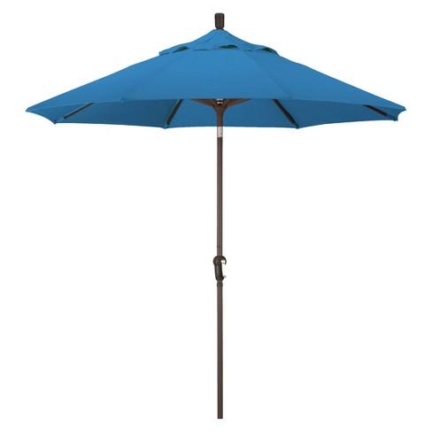 9' Aluminum Auto Tilt Patio Umbrella - California Umbrella - image 1 of 4