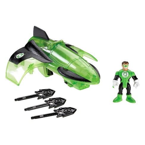 Fisher-Price Imaginext DC Super Friends Green Lantern Jet - image 1 of 9
