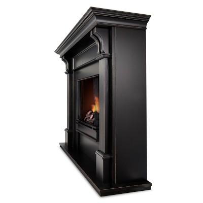 real flame ashley electric fireplace blackwash target rh target com