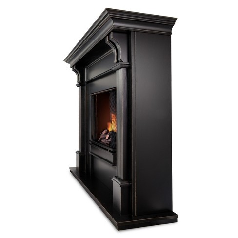 Ashley Electric Fireplace Blackwash All Real Flame