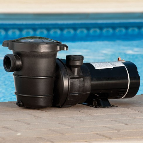 Pool Central Self-Priming Above-Ground Swimming Pool and Spa Pump 0.75\