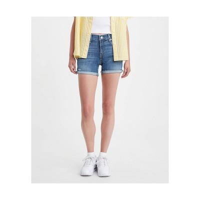 Levi's® Women's Mid-Rise Midi Jean Shorts