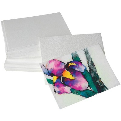 Shizen Design Rough Surface Watercolor Paper, 5 x 7 Inches, White, 100 Sheets
