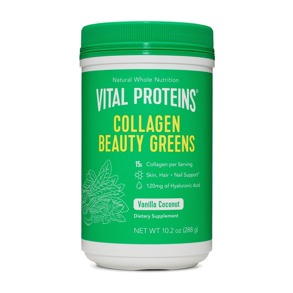 Image of Vital Proteins Collagen Beauty Greens Powder - Coconut Vanilla - 10.2oz