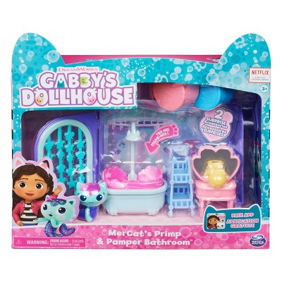 Gabby's Dollhouse MerCat's Primp and Pamper Bathroom