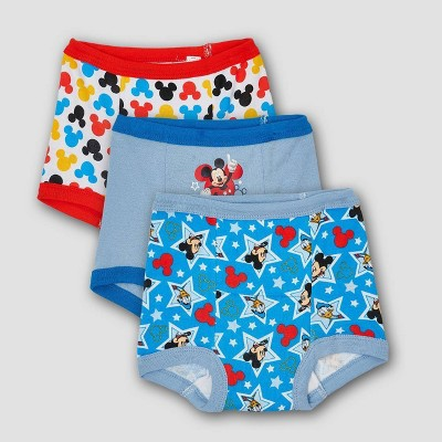 Toddler Boys' Disney 3pk Mickey Training Pants - 2T