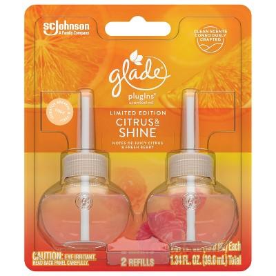Glade Citrus Shine PlugIns Refill - 2ct