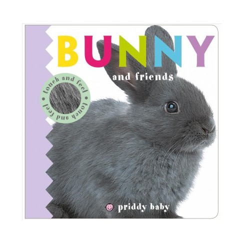 Bunny and Friends - (Baby Touch and Feel) by  Roger Priddy (Board_book) - image 1 of 1