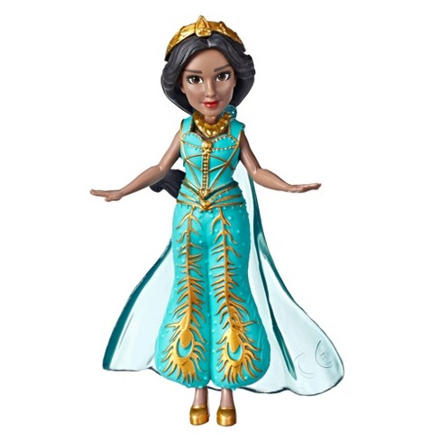 Disney Aladdin Collectible Princess Jasmine Small Doll in Teal Dress - image 1 of 2