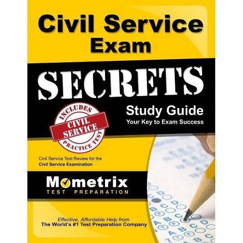 Civil Service Exam Secrets Study Guide - (Mometrix Secrets Study Guides) (Paperback) - image 1 of 1