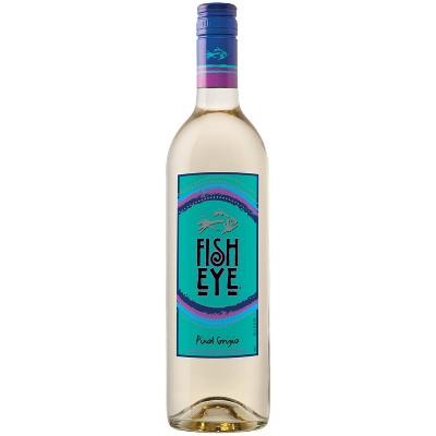 Fish Eye Pinot Grigio White Wine - 750ml Bottle
