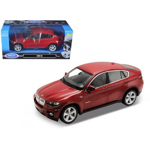 2011 2012 Bmw X6 Red 1 24 Diecast Car Model By Well Target