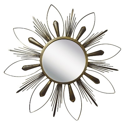 """24.5"""" x 24.5"""" Like the Sun II Decorative Mirror - PTM Images"""