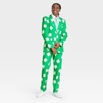 Men's Clover Suit Set - Green