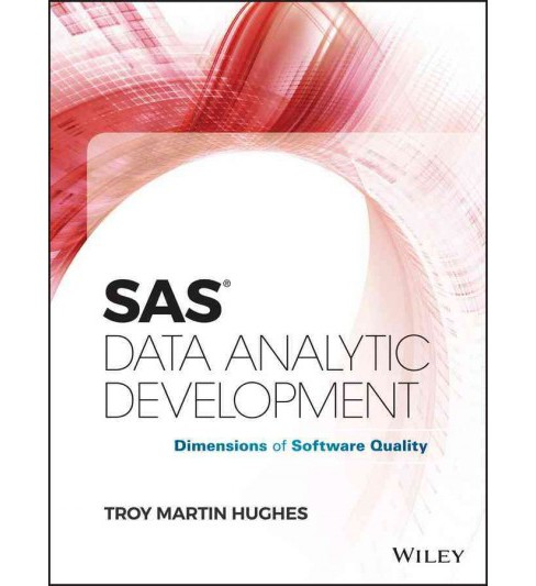 SAS Data Analytic Development : Dimensions of Software Quality (Hardcover) (Troy Martin Hughes) - image 1 of 1
