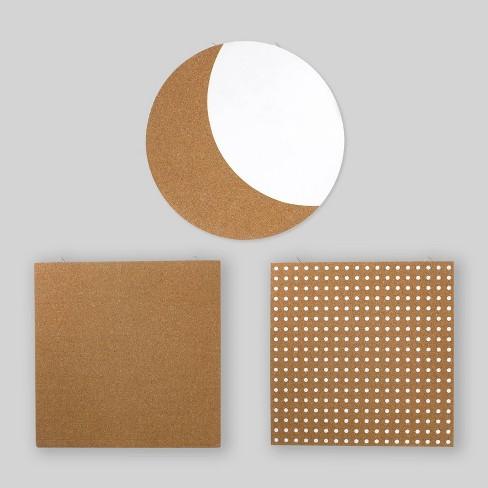 3pc Cork/Dry Erase Boards - Bullseye's Playground™ - image 1 of 4