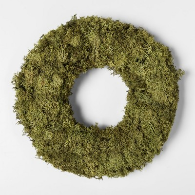 11  Dried Moss Wreath Green - Smith & Hawken™