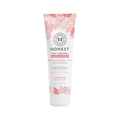 The Honest Company Gently Nourishing Face & Body Lotion Sweet Almond - 8.5 fl oz
