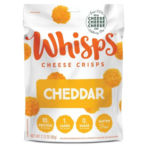 Whisps Cheddar Cheese Crisps - 2.12oz - image 1 of 4
