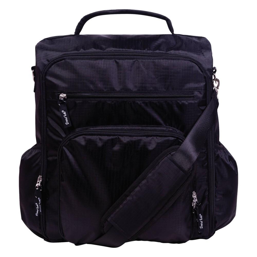 Trend Lab Convertible Backpack Diaper Bag Black