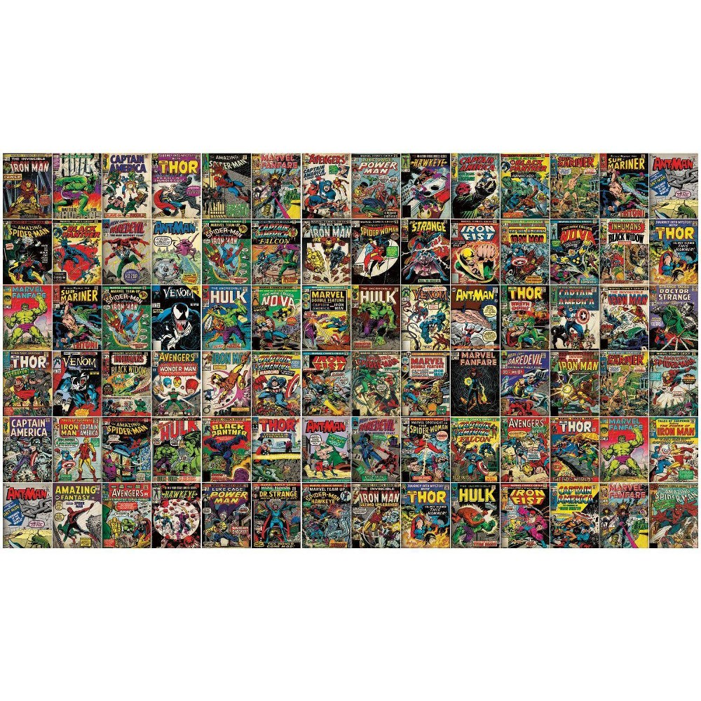 Image of Marvel Comic Cover Peel and Stick Wall Mural - RoomMates