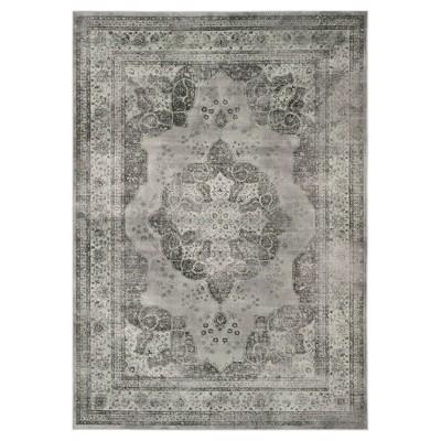 Luca Vintage Area Rug - Gray / Multi ( 5' 3  X 7' 6  )- Safavieh®