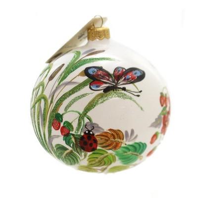 "Christina's World 4.0"" Ladybug Haven Hand Painted  -  Tree Ornaments"