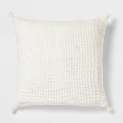 Euro Double Cloth Decorative Throw Pillow Cream - Threshold™