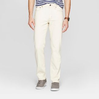 """Men's 30"""" Slim Fit Jeans - Goodfellow & Co™ Natural White 32x30"""