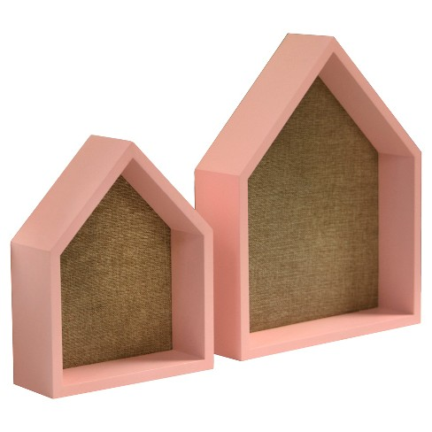 2 Pack House Shelves with Pinboard - Pillowfort™ - image 1 of 4