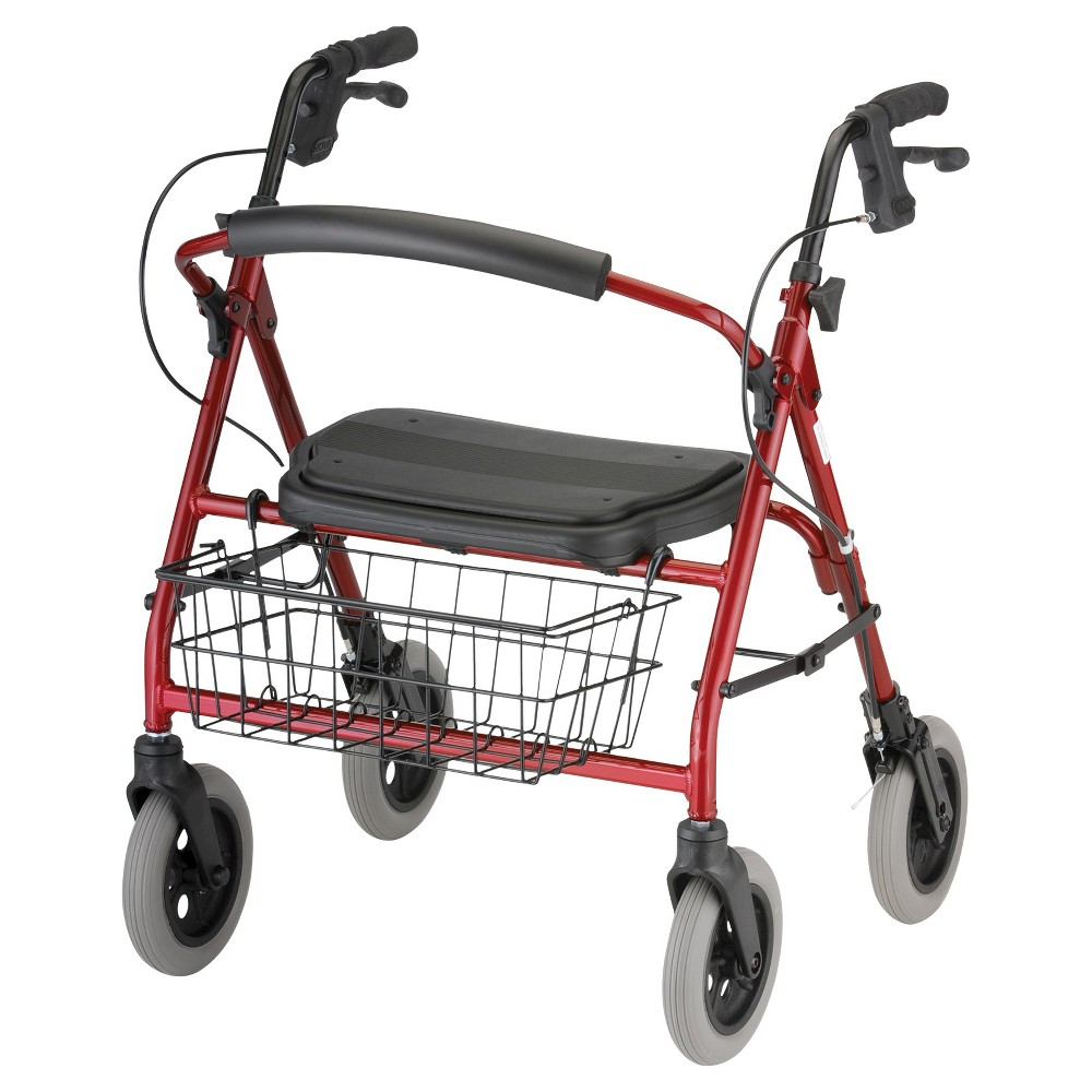 Nova Mini Mack Rolling Walker - Red