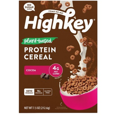 HighKey Plant Protein Cereal - Cocoa - 7.5oz