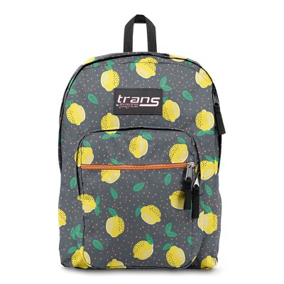 """Trans by JanSport 17"""" Supermax Backpack - Lovely Lemons"""
