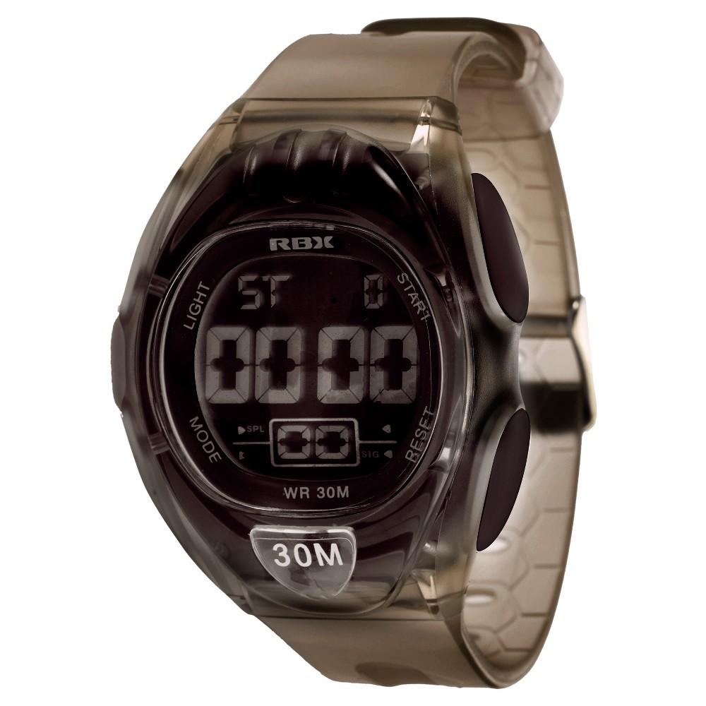 Rbx Clear Digital Watch - Black