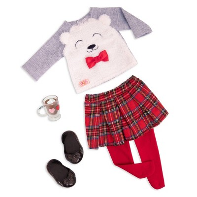 """Our Generation Fashion Outfit for 18"""" Dolls - Bear-y Sweet"""