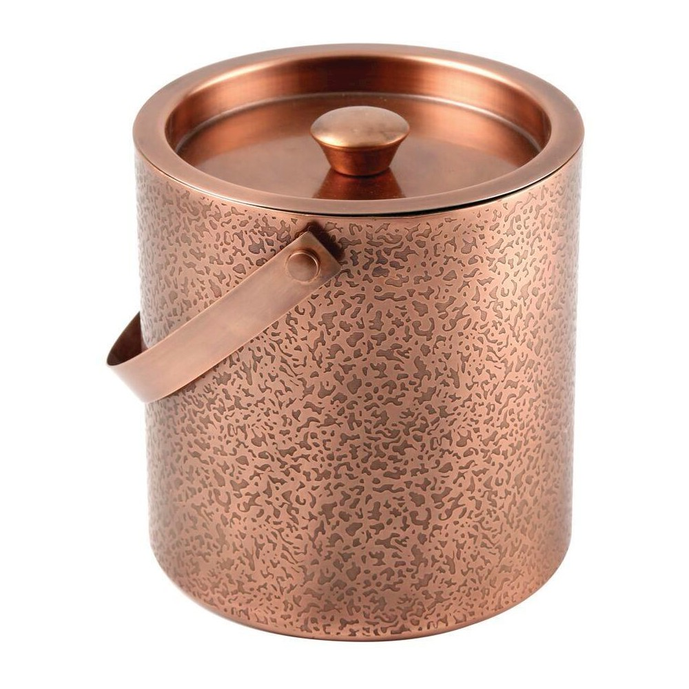 Image of Cambridge Kerry Etched Copper 3 qt Ice Bucket