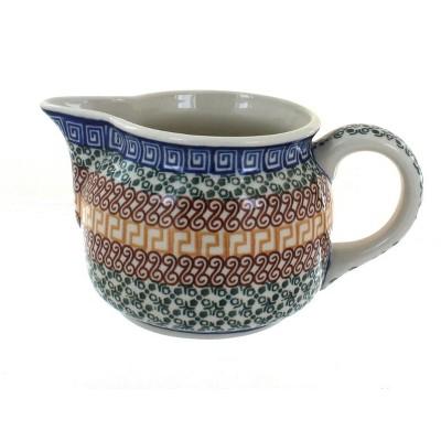 Blue Rose Polish Pottery Athena Small Pitcher