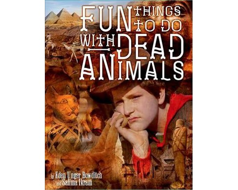 Fun Things to Do With Dead Animals : Egyptology, Ruins, My Life -  (Hardcover) - image 1 of 1