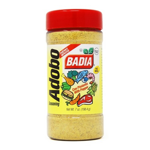 Badia Adobo Seasoning With Pepper 7oz Target